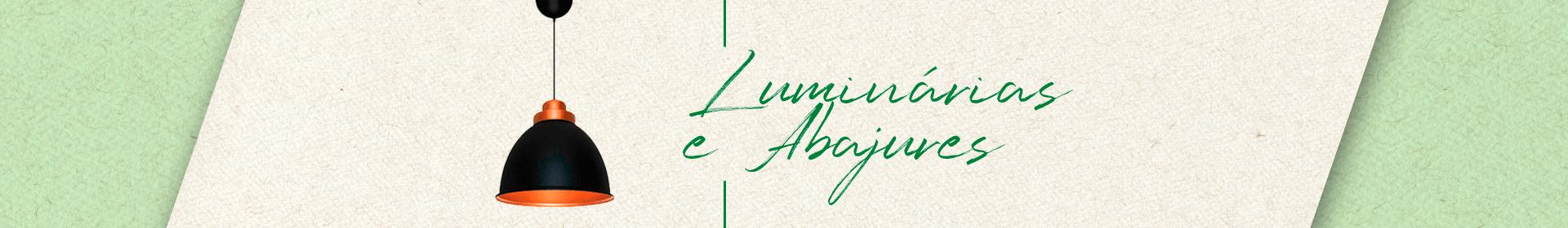 Banner - luminárias e abajour
